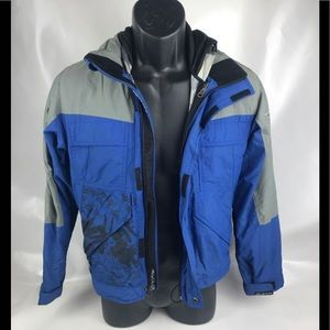 Alycium Blue Snow Winter Jacket Sz 12